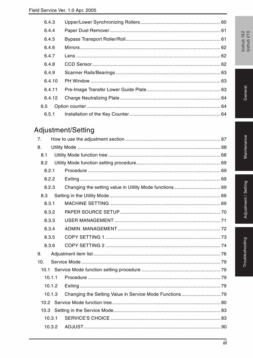 Konica minolta bizhub c360 service manual pdf